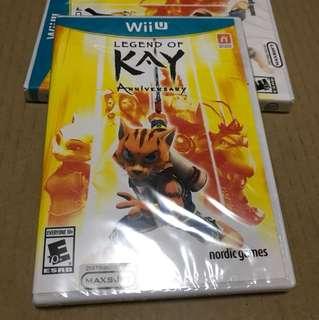 Wii U Legend Of Kay Anniversary