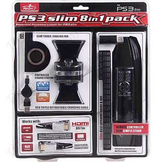 PS3 Slim 8 In 1 Accessory Pack
