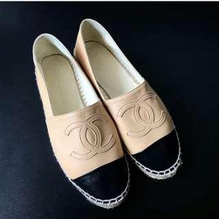 👉PRE💖 - CHANEL Espadrille Flat Shoes #dl