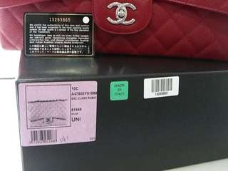 Authentic Chanel Red maxi
