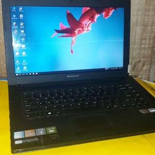 Laptop lenovog40 amd e1 2100 bagus ok
