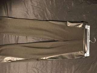 Black dressy leggings