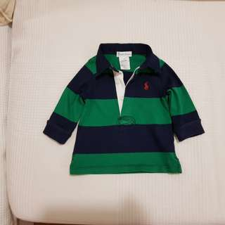 Ralph Lauren long sleeve polo-T