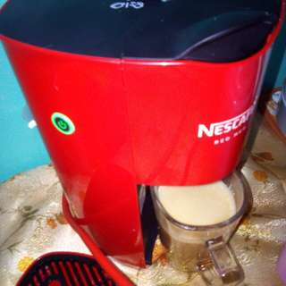 Nescafe Red Coffee Machine