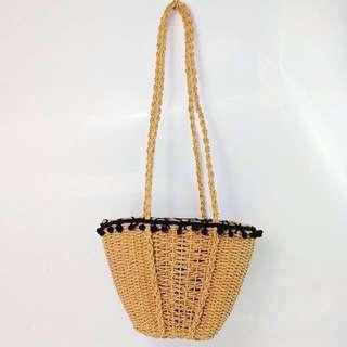Straw/ Rattan Woven Slingbag #HOT80