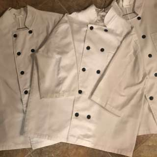 Men's Chef Jackets Medium & Large