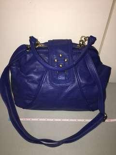 Royal blue purse