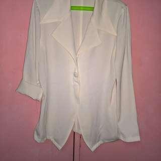 Offwhite blazer