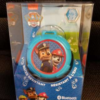 Paw Patrol Bluetooth Rechargeable Speaker