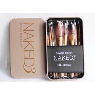 Naked 3 PRO brush set 12pcs