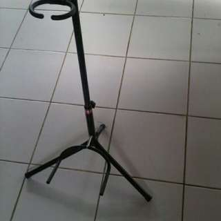 Stand gitar single besi kuat