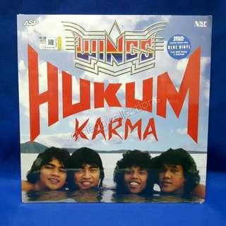Wings - Hukum Karma Vinyl LP (limited, blue LP) deluxe Edition