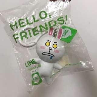 💛OK Hello Friends Line 公仔掛飾 C