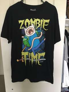 Adventure time glow in the dark tshirt
