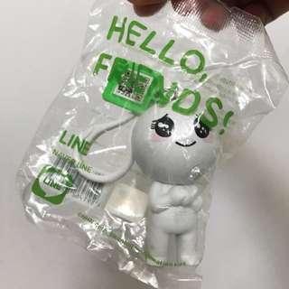 💛OK Hello Friends Line 公仔掛飾 B