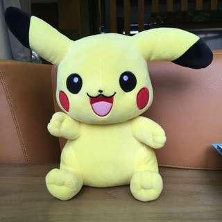 Pokémon 神奇寶貝皮卡丘絨毛玩偶