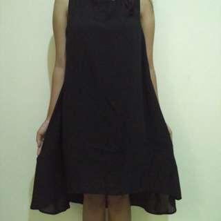 Dress hitam zalora