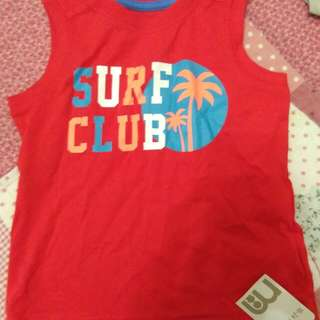 Mothercare surf club  shirt