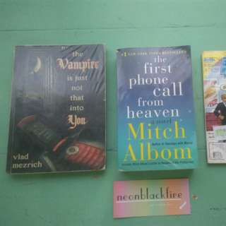 Take ALL these 3 books for just 350 php.