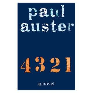 (Ebook) 4 3 2 1 by Paul Auster