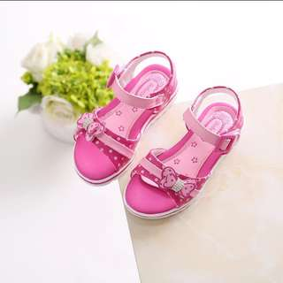 Brand new sandals / pink shoes / princess shoes