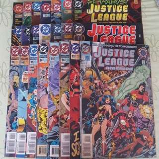 Justice League Of America #0; 93 - 113