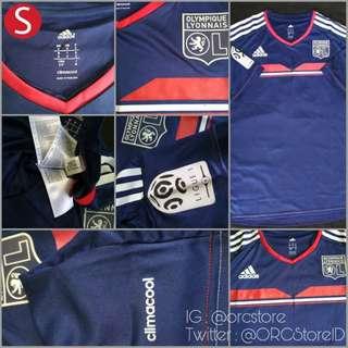 Jersey Original Adidas Olympique Lyonnais Away 3rd 2013-2014 SS Adult