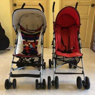 Mclaren Volo and Juniors Strollers