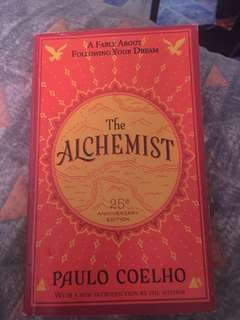 The alchemist 25th edition (paulo coelho)