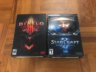 Diablo 3, Starcraft 2