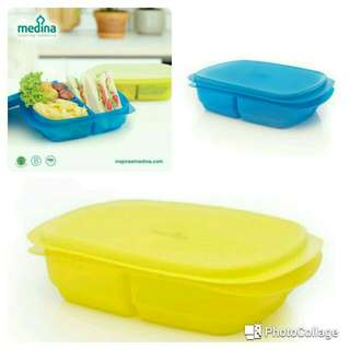 Duo portion lunch set ( isi 2 )
