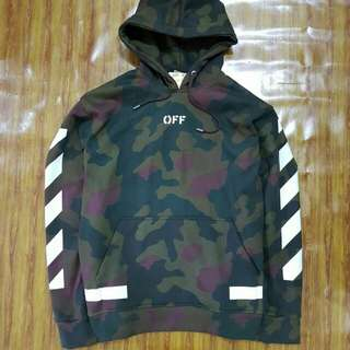 Off White Camo Army Hoodie