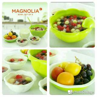 Magnolia serving set bowl ( set of 9 )