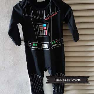 Darth Vader sleepsuit