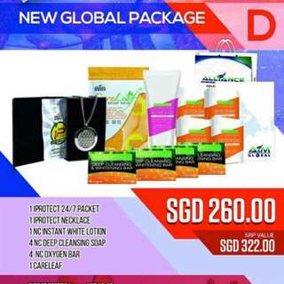 NEW GLOBAL PACKAGE D