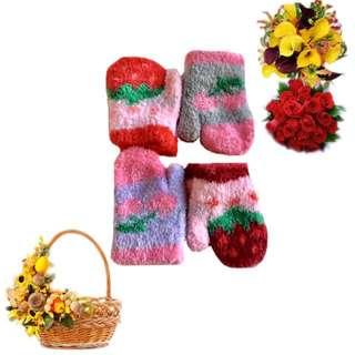 寶寶櫻桃 草莓包套/呵護/保暖