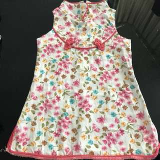 Baby chinese dress 0-3 months