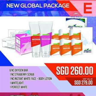 NEW GLOBAL PACKAGE E