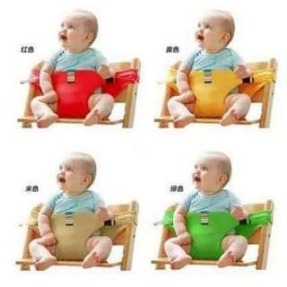 Baby chair belt