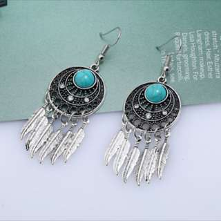 [PO] Dreamcatcher Earrings
