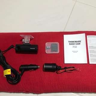 【Free Local Delivery】Thinkware F50 Dash CAM