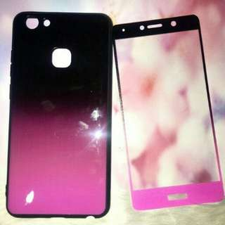 Case with tempered glass