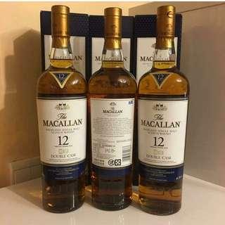 Macallan Double Cask 12 Years 700ml 台灣版