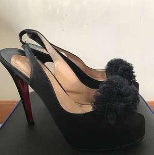 Christian Louboutin Sling back heels EU size 39.5 高跟鞋 高踭鞋
