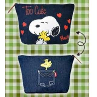 Snoopy 大牛仔布袋