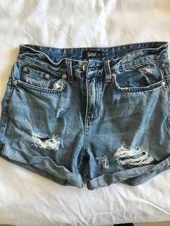 Sports Girl Denim Shorts