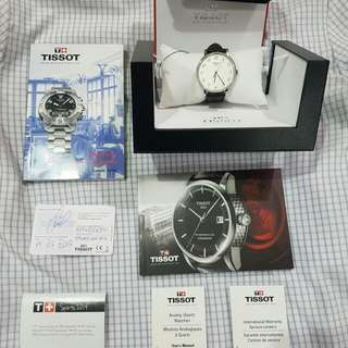 Tissot Watch Jam   Mulus abiss