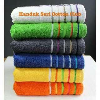 Handuk cotton club 1 paket isi 2 pcs