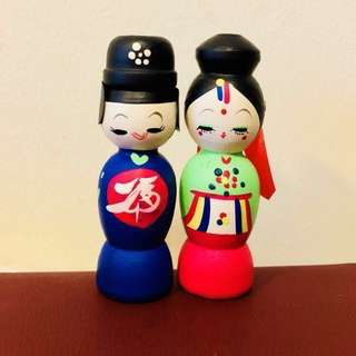 Display Korean Couple (A005)