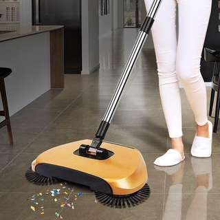 hand push sweeping floor machine magic broom dustpan machine
